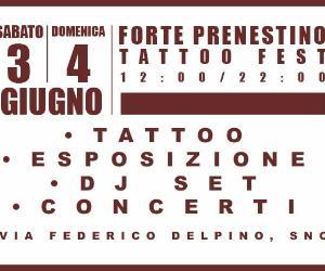 Festival: Forte Prenestino Tattoo Festival 2017