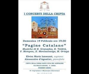 Concerti: Pagine Catalane