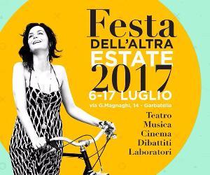 Spettacoli: Festa dell'altra estate alla Casetta Rossa 2017