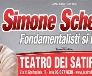 Uno spettacolo scritto, diretto e interpretato da Simone Schettino