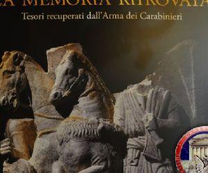 In mostra i tesori recuperati dall'Arma dei Carabinieri