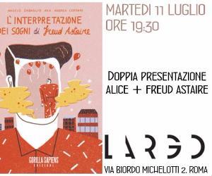 Libri - Doppia presentazione: Alice con Freud Astaire