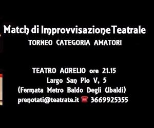 Spettacoli - Match di Improvvisazione TEATRALE