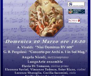 """Concerti: Uno sguardo al passato… A. Vivaldi """"Nisi Dominus"""" RV 608"""