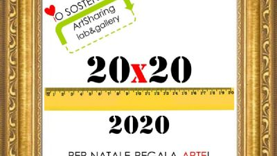Appuntamenti virtuali - 20x20 per Natale regala ARTE!