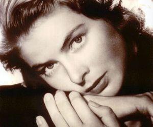 In occasione del centenario della nascita dell'attrice svedese