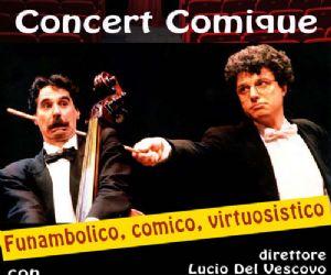 """Altri eventi: TEATRO ITALIA da giovedì 19 a domenica 22 novembre 2009  """"Concert Comique"""""""