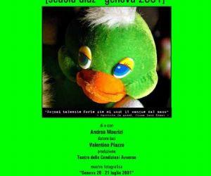 Altri eventi: Sangue dal Naso [Scuola Diaz - Genova 2001] – Teatro Testaccio, Roma, 4-5-6-7 febbraio 2010