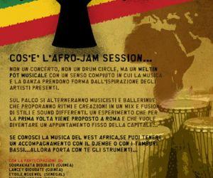 Altri eventi: Destination West Africa jam session di musica dell'africa occidentale + Etoile Nguewel 26 febbraio