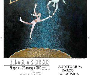 Altri eventi: Benaglia's Circus uditorium Parco della Musica  21 aprile - 23 maggio 2010