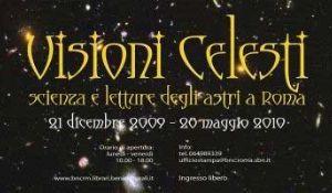 Altri eventi: Prorogata al 28 maggio la mostra Visioni celesti alla Biblioteca nazionale centrale di Roma