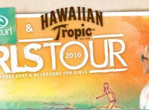 Altri eventi: 'Rip Curl and Hawaiian Tropic Girls Tour 2010' Italy, Fregene 17-18 luglio