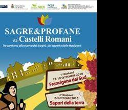 Altri eventi: Sagre e Profane 2010 18 settembre al 17 ottobre 2010 nei Castelli Romani