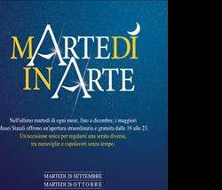 Altri eventi: Martedì in Arte dal 28 settembre al 28 dicembre aperture straordinarie e gratuite dei musei statali