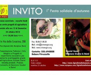 Altri eventi: Festa Solidale d'Autunno 24 ottobre 2010