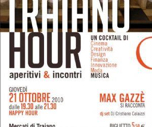 Altri eventi: Happy Hour ai Mercati di Traiano 21 ottobre