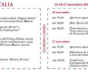 Altri eventi: Evento artistico multimediale 'Auguri Italia'  15 - 16 - 17 novembre 2010, nello Sala Margana