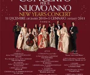 Altri eventi: Concerto per il Nuovo Anno 31 dicembre 2010 - 1 gennaio 2011