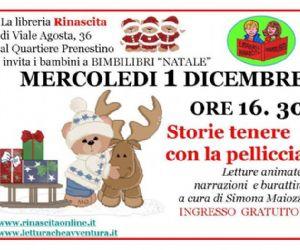 Altri eventi: Letture per bambini -  mercoledì 1 dicembre IBRERIA RINASCITA DI VIALE AGOSTA