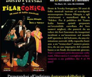 "Altri eventi - ""Dosto&Yevski e Donna Olimpia"" e ""Blek & 'Ndeker"" tornano a grande richiesta al Teatro Italia"