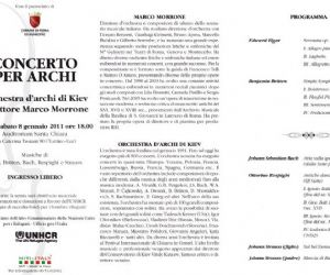 Altri eventi: Concerto musica per archi - Auditorium Santa Chiara, 8 gennaio 2011 ore 18:00