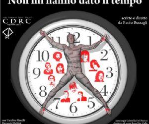 """Altri eventi - """"Non mi hanno dato il tempo""""  lunedì 31 gennaio Teatro Palladium"""