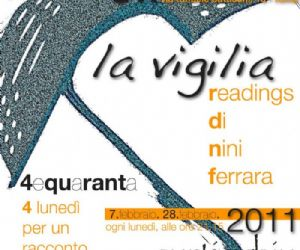 "Altri eventi - ""4equaranta"": i lunedì di Officine Teatrali. Nini Ferrara legge i suoi inediti."