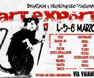 Altri eventi: ARTEXPòRT [4, 5, 6 marzo] -VIA VAIANO 7 [Magliana - Roma]