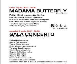 Altri eventi - DUE CONCERTI DI BENEFICENZA PER IL GIAPPONE 4 e 6 aprile 2011 a Roma