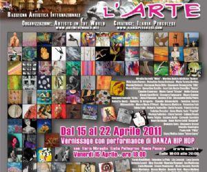 Altri eventi: DANZA CON L'ARTE  GRANDE ESPOSIZIONE INTERNAZIONALE ARTISTICA