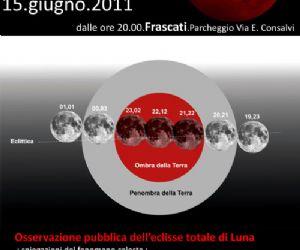 """Altri eventi - 15 Giugno 2011 """"La notte della Luna Rossa"""" a Frascati"""