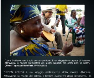 Altri eventi: 20 luglio LOUIS SICILIANO: DJIGEN AFRICA