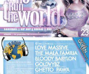 Altri eventi: WHO RUN THE WORLD, FESTA D'INAUGURAZIONE  DEL NUOVO PALINSESTO DI DELIRADIO