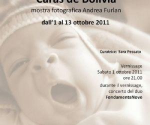 Mostre - Andrea Furlan  Caras de Bolivia dall'1 al 13 ottobre 2011