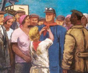 Mostre - Realismi socialisti: grande pittura sovietica 1920-1970