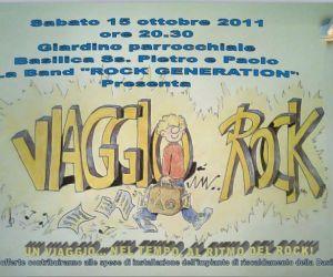"""Altri eventi - Concerto """"Viaggio Rock""""  Basilica Ss. Pietro e Paolo"""