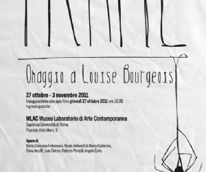 Omaggio a Louise Bourgeois