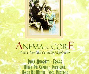 Serate - Anema e core Il pianoforte di Maria Pia Carola e la voce e lo sguardo di Paolo  Antognetti