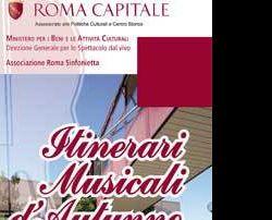 Concerti: Itinerari musicali d'autunno Università di Roma Tor Vergata