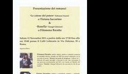 """Altri eventi - Presentazione dei romanzi """"Le catene del potere"""" e """"Rosella"""""""