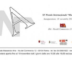 Mostre - XV Premio Massenzio Arte mostra collettiva autori selezionati