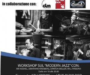 "Altri eventi: Workshop sul ""modern Jazz"" con Ari Hoenig, Jonathan Kreisberg, Danton Boller, Will Vinson!!!"