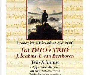 Concerti - fra DUO e TRIO j. Brahms, L. van Beethoven