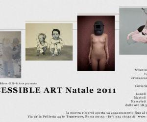 Mostre - ACCESSIBLE ART Natale 2011