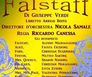 Spettacoli: Falstaff di Giuseppe Verdi su libretto di Arrigo Boito