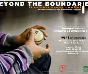"Mostre: Beyound the Boundaries ""Il Cricket senza confini"""