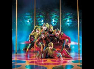 Spettacoli: Cirque du soleil - Saltimbanco