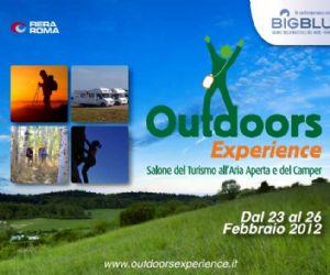 Fiere: Outdoors Experience Salone del Turismo all'aria aperta e del Camper dal 23 al 26 febbraio 2012 Roma