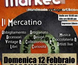 Locali: WELCOME TO THE MARKET HandmadeARTVintage&co. * BLACK OUT DOM 12 FEBB