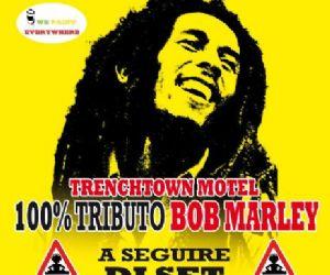 Locali: Love Party-BUON COMPLEANNO BOB-100% Tributo Bob Marley-Roots Art-Dj Set